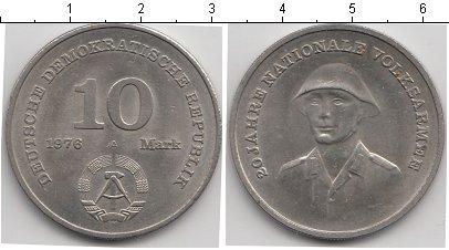 Картинка Монеты ГДР 10 марок Медно-никель 1976