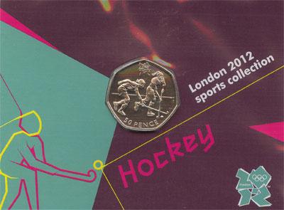 Изображение Наборы монет Великобритания 50 пенсов 2011 Медно-никель UNC Подарочный набор Лон