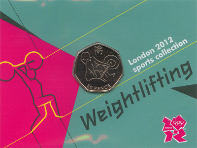 Изображение Монеты Великобритания 50 пенсов 2011 Медно-никель UNC Подарочный набор Лон