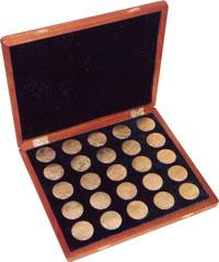 Изображение Аксессуары для монет Кабинеты для монет Планшет для монет 0