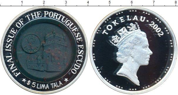 Картинка Монеты Токелау 5 тала  2002