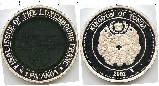 Картинка Монеты Тонга 1 паанга  2002