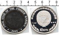 Изображение Монеты Корея 10 вон 2002  Proof-