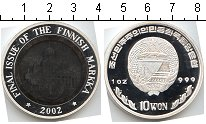Изображение Монеты Корея 10 вон 2002  Proof- Финляндия