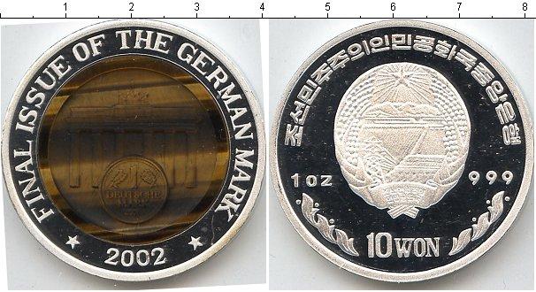 Картинка Монеты Корея 10 вон  2002