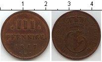 Изображение Монеты Мекленбург-Стрелитц 3 пфеннига 1847 Медь