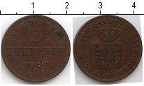 Изображение Монеты Саксе-Мейнинген 2 пфеннига 1867 Медь
