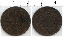 Изображение Монеты Баден 1 крейцер 1866 Медь