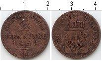 Изображение Монеты Пруссия 2 пфеннига 1859 Медь VF