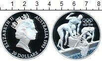 Изображение Монеты Австралия 20 долларов 1993 Серебро Proof- Елизавета II Плавцы