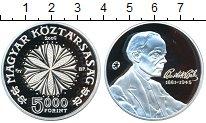 Изображение Монеты Венгрия 5000 форинтов 2006 Серебро Proof 125 лет со дня рожде