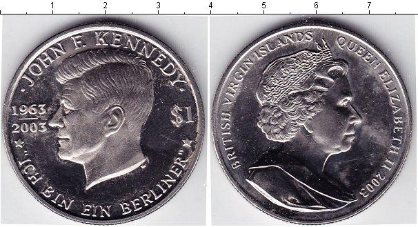 Картинка Мелочь Виргинские острова 1 доллар Медно-никель 2003