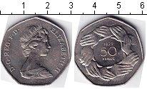 Изображение Мелочь Великобритания 50 пенсов 1973 Медно-никель UNC-
