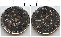 Изображение Мелочь Канада 25 центов 2008 Медно-никель UNC- Олимпийские игры в В
