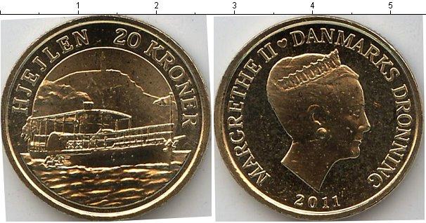 Картинка Мелочь Дания 20 крон  2011