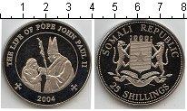 Изображение Мелочь Сомали 25 шиллингов 2004 Медно-никель Proof- Жизнь Иоанна Павла I