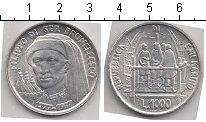Изображение Мелочь Сан-Марино 1.000 лир 1977 Серебро UNC- Брунеллеско