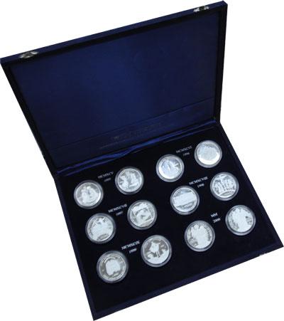 Изображение Подарочные наборы Ватикан Миллениум 2000 Серебро Proof