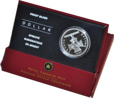 Изображение Подарочные наборы Канада 150-летие создания Креста Виктории 2006 Серебро Proof