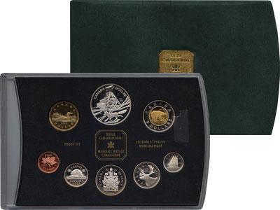 Изображение Подарочные монеты Канада Выпуск монет 2003 года 2003  Proof