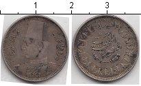 Изображение Монеты Египет 2 пиастра 1937 Серебро  KM#365