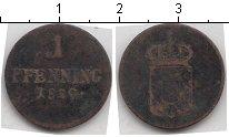 Изображение Монеты Германия Бавария 1 пфенниг 1820 Медь
