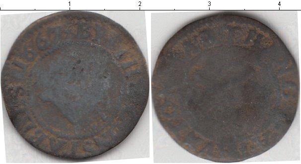 Картинка Монеты Германия номинал? Медь 1667
