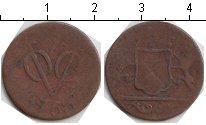 Изображение Монеты Нидерландская Индия 1 дьюит 1760 Медь