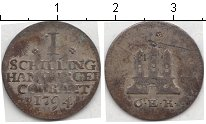 Изображение Монеты Гамбург 1 шиллинг 1794 Серебро VF OHK.