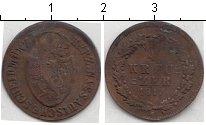 Изображение Монеты Германия Нассау 1/4 крейцера 1817 Медь VF