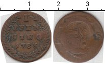 Изображение Монеты Германия Зальцбург 1 пфенниг 1783 Медь