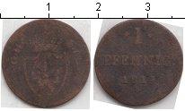 Изображение Монеты Гессен-Дармштадт 1 пфенниг 1811 Медь