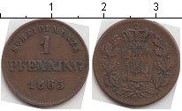 Изображение Монеты Бавария 1 пфенниг 1865 Медь XF
