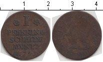 Изображение Монеты Брауншвайг-Вольфенбюттель 1 пфенниг 1741 Медь  Карл