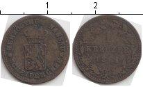 Изображение Монеты Германия Нассау 1 крейцер 1861 Серебро