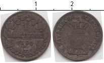 Изображение Монеты Бавария 1 крейцер 1860 Серебро