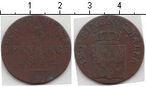 Изображение Монеты Пруссия 3 пфеннига 1844 Медь VF