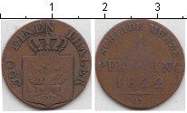 Изображение Монеты Пруссия 1 пфенниг 1822 Медь  D