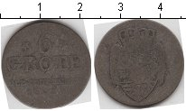 Изображение Монеты Германия Ольденбург 6 гротен 0 Серебро