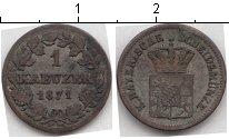 Изображение Монеты Бавария 1 крейцер 1871 Серебро VF