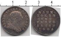 Изображение Монеты Великобритания 10 пенсов 1805 Серебро XF Георг III токен