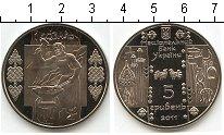 Изображение Мелочь Украина 5 гривен 2011 Медно-никель Proof-