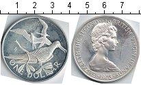 Изображение Монеты Виргинские острова 1 доллар 1973 Медно-никель UNC- Елизавета II