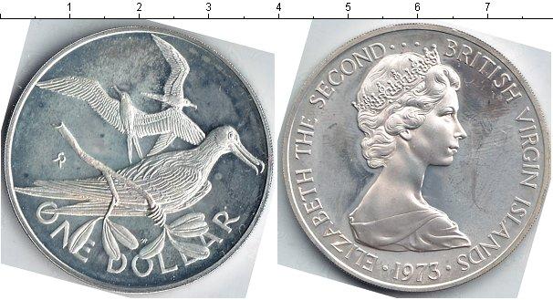 Картинка Монеты Виргинские острова 1 доллар Медно-никель 1973