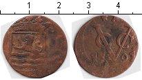 Изображение Монеты Нидерландская Индия 1 дьюит 1791 Медь  Зеландия