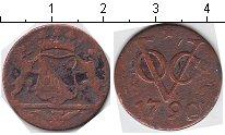 Изображение Монеты Нидерландская Индия 1 дьюит 1790 Медь  Утрехт