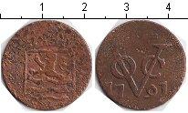 Изображение Монеты Нидерландская Индия 1 дьюит 1791 Медь