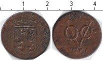 Изображение Монеты Нидерландская Индия 1 дьюит 1766 Медь  Голландия