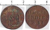 Изображение Монеты Нидерландская Индия 1/4 стювера 1825 Медь  S