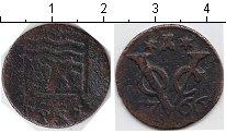 Изображение Монеты Нидерландская Индия 1 дьюит 1766 Медь